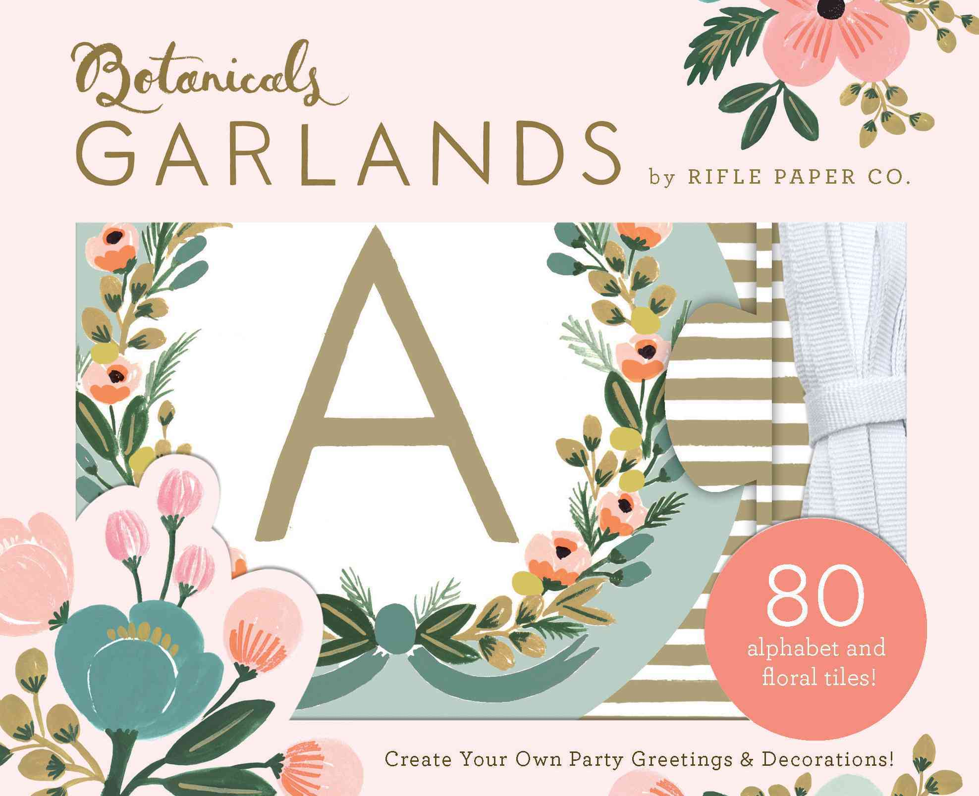 Botanicals Garlands By Rifle Paper Co. (COR)
